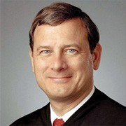 John Roberts, newly  Chief Justice